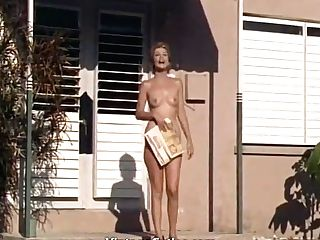 Naked Ladies Having Joy At A Naturist Resort (1960s Antique)