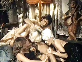 Perverse Light Haired Old-school Trampy Ladies Work On One Strong Hot Dick