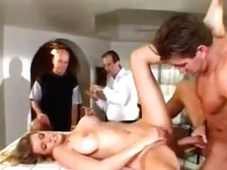 Beautiful Wifey Screwed By A Superstar In Front Of Her Spouse