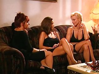 T.j. Hart And Her Big-chested Gfs Retro Porno
