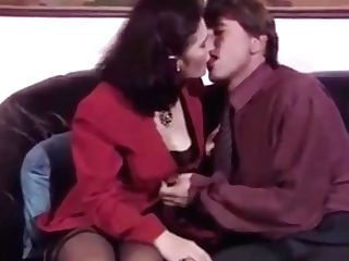 Lovely German Matures Dark-haired In Stockings And High-heeled Shoes Fucked